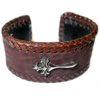 Brown Shark Cross Bangle ネックレス チェーン WWB-20863 BR|SHK WITH CROSS