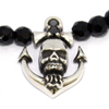 Sailor Skull Necklace シルバー ピアス WWP-26419