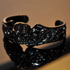 Heroic Skull Bangle Black Plating シルバー バングル WWSB-16617 BP