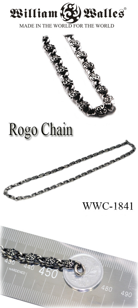 Silver Chainネックレス チェーン WWC-1841