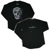 William Skull Hallmark Sweatshirt Tシャツ WWST-23797 BK M